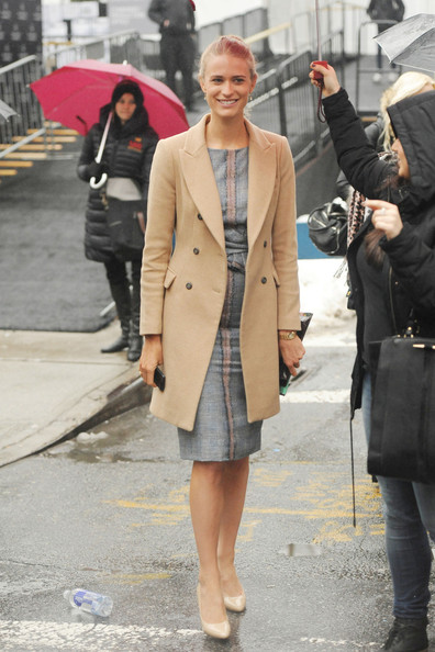 Julie Henderson Wool Coat