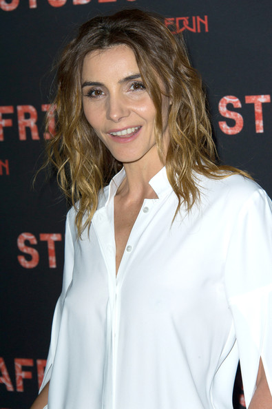 More Pics of Clotilde Courau Medium Wavy Cut (1 of 4) - Clotilde Courau Lookbook - StyleBistro