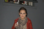 Kara Tointon Patterned Scarf