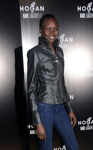 More Pics of Alek Wek Classic Jeans (3 of 4) - Alek Wek Lookbook - StyleBistro