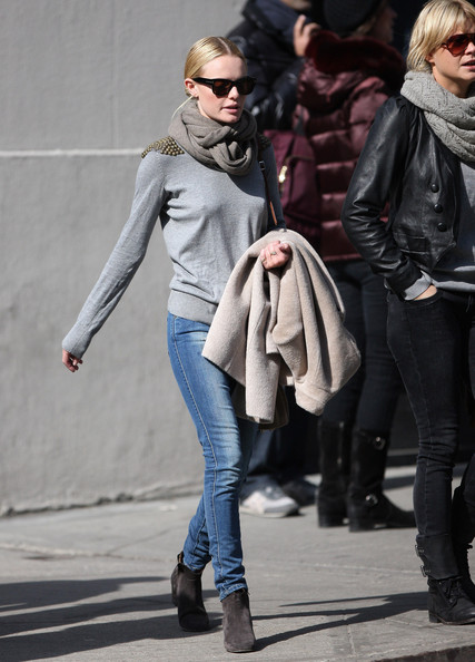 Kate Bosworth Solid Scarf