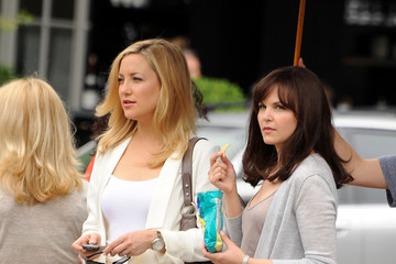 Kate Hudson Ginnifer Goodwin Kate Hudson and Ginnifer Goodwin Film in New York