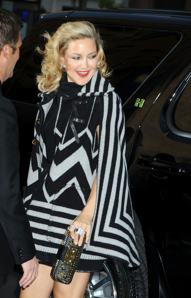 Kate Hudson dazzled us with those statement diamond rings.