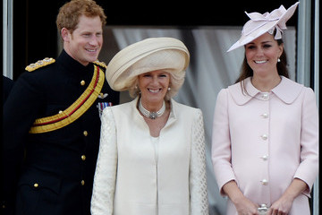 Kate Middleton Camilla Parker Bowles British Royals at the Trooping the Colour