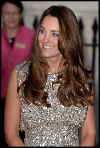 Kate Middleton Long Wavy Cut