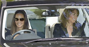 Kate Middleton's sister, Pippa Middleton, wears a pair of classic Ray-ban aviator sunglasses.