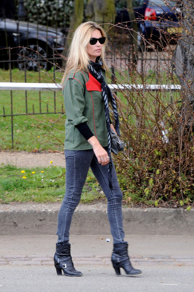 More Pics of Kate Moss Ankle boots (1 of 9) - Kate Moss Lookbook - StyleBistro