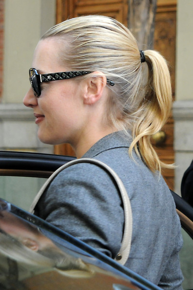 Kate Winslet and Louis Dowler Walk in Madrid