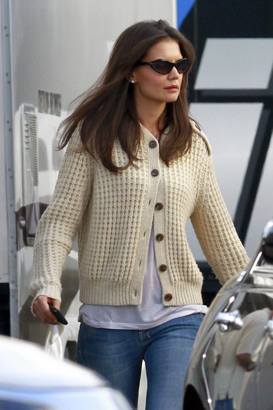 Katie Holmes Blade Sunglasses