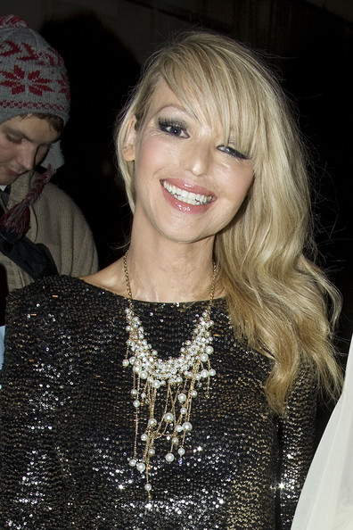 Katie Piper Gold Statement Necklace