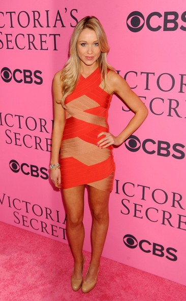 Katrina Bowden Bandage Dress