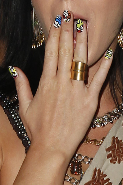 Katy Perry Wide Band Ring []