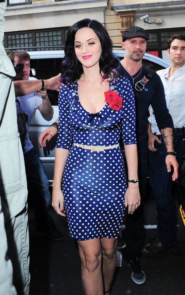 More Pics of Katy Perry Cocktail Dress (4 of 12) - Dresses & Skirts Lookbook - StyleBistro []