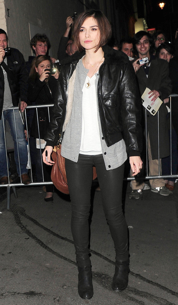 Keira Knightley Leather Pants Keira Knightley Looks