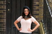 Kelly Brook V-neck Sweater