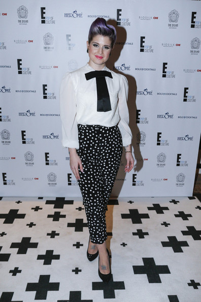 Kelly Osbourne Print Pants