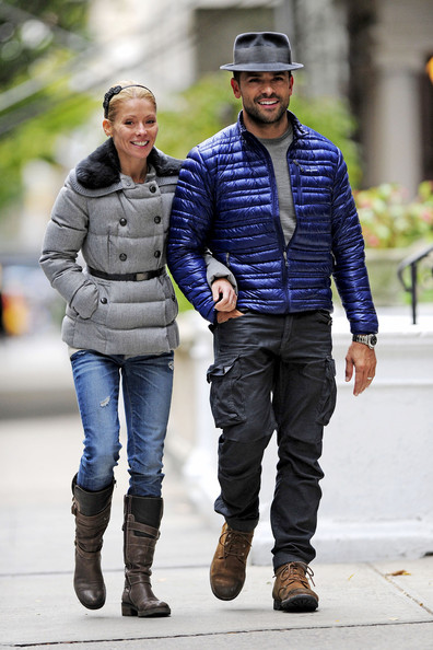Kelly Ripa Puffa Jacket