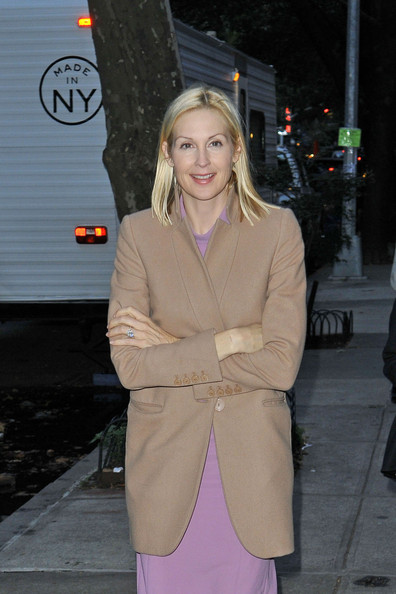 Kelly Rutherford Fitted Jacket