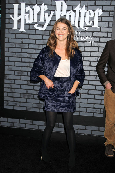 Keri Russell Evening Pumps