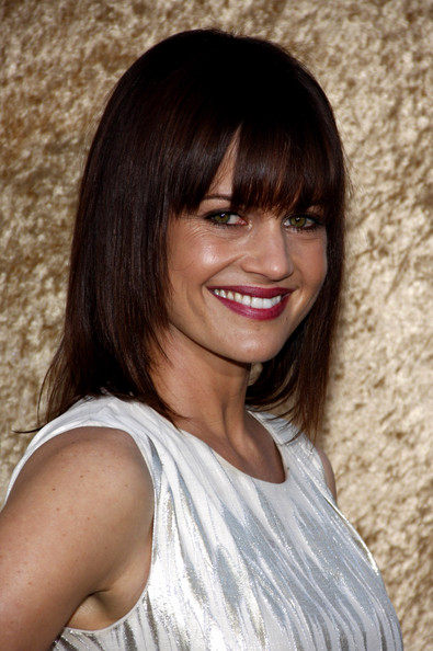 More Pics of Carla Gugino Evening Pumps (1 of 8) - Carla Gugino Lookbook - StyleBistro