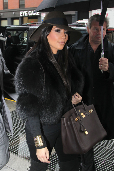Kim Kardashian Top Hat