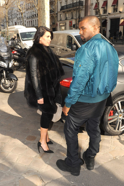 More Pics of Kim Kardashian Fur Coat (1 of 11) - Kim Kardashian Lookbook - StyleBistro