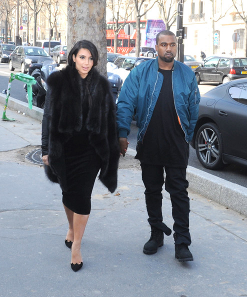 More Pics of Kim Kardashian Fur Coat (4 of 11) - Kim Kardashian Lookbook - StyleBistro