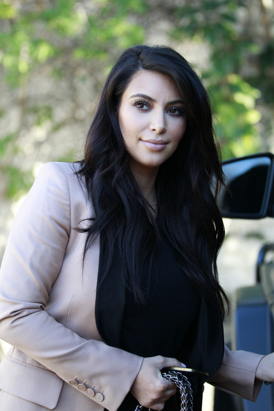 More Pics of Kim Kardashian Skinny Pants (1 of 27) - Pants & Shorts Lookbook - StyleBistro