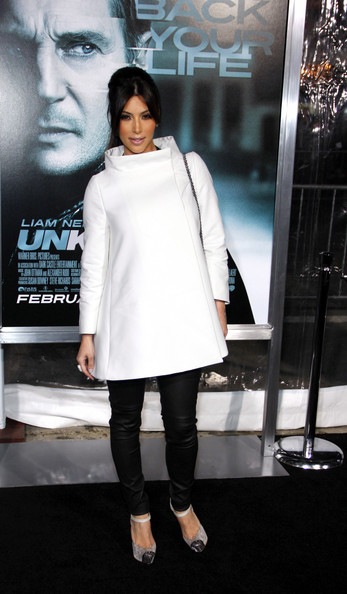 Kim Kardashian Wool Coat