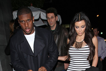 Kim Kardashian Reggie Bush Kim Kardashian and Reggie Bush at Nobu