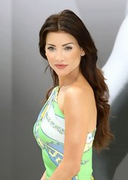 Jacqueline MacInnes Wood kept her hair down in soft waves at the Monte Carlo TV Festival.