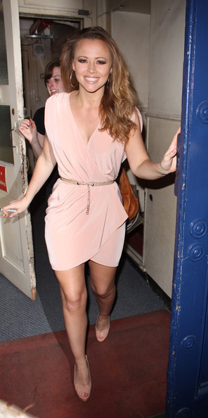 Kimberley Walsh Wrap Dress []