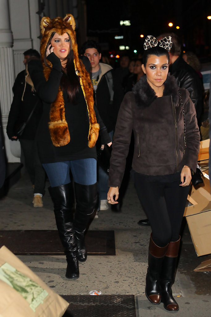 Kourtney Kardashian Fur Coat Kourtney Kardashian Looks