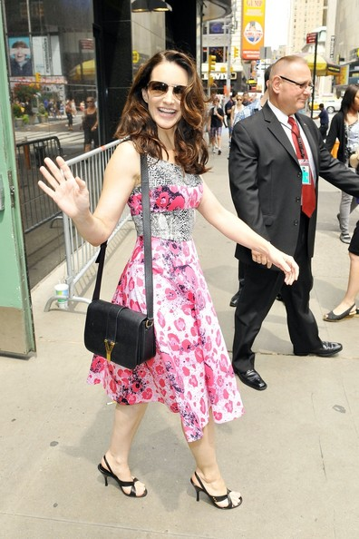 More Pics of Kristin Davis Print Dress (1 of 20) - Kristin Davis Lookbook - StyleBistro