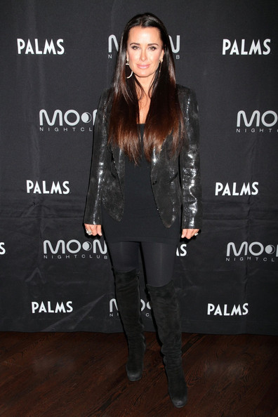 Kyle Richards Over the Knee Boots []
