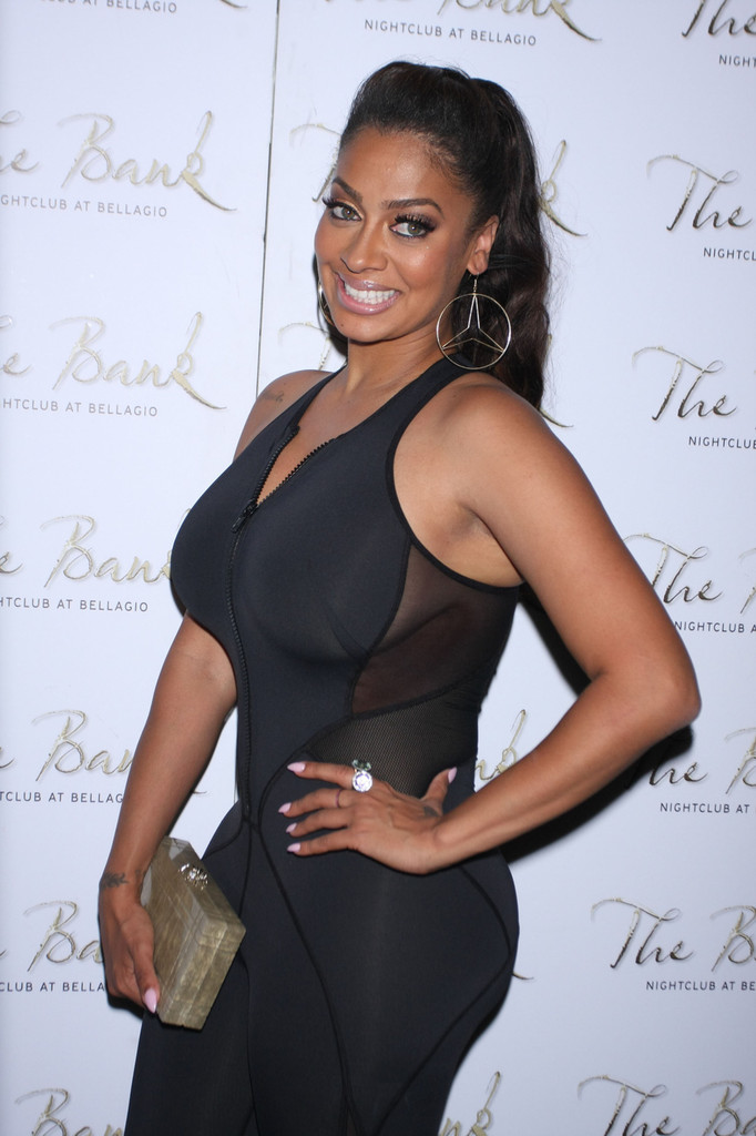La La Anthony Box Clutch La La Anthony Looks Stylebistro