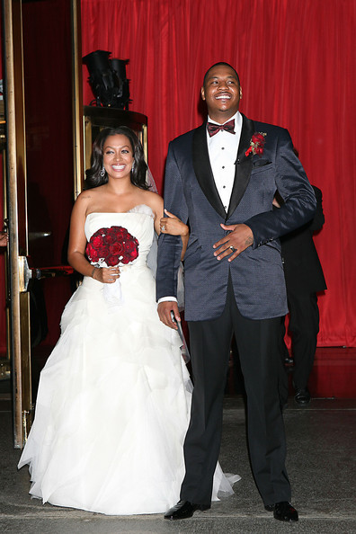 La La Anthony Wedding Dress
