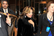 La Toya Jackson Evening Coat