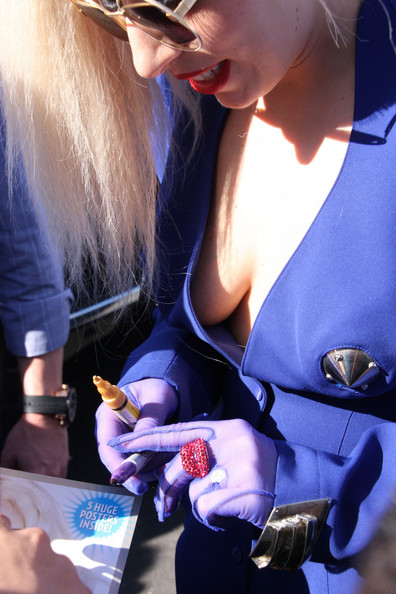 Lady Gaga Statement Ring