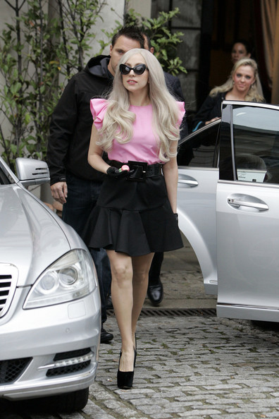 Lady Gaga Mini Skirt