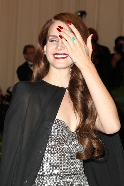 Lana Del Rey Red Nail Polish