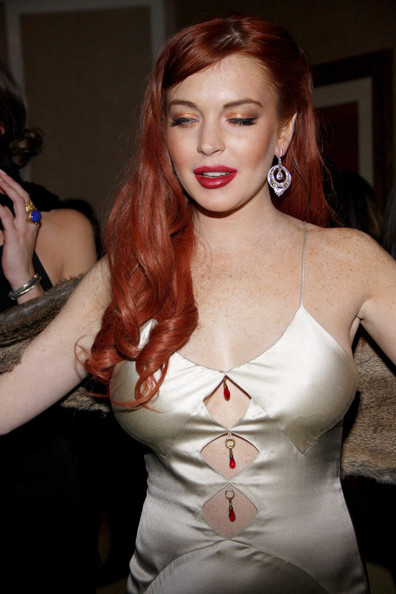 Are lindsay lohan red lips good topic