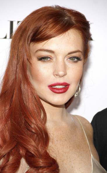 More Pics of Lindsay Lohan Sterling Dangle Earrings (1 of 28) - Lindsay Lohan Lookbook - StyleBistro