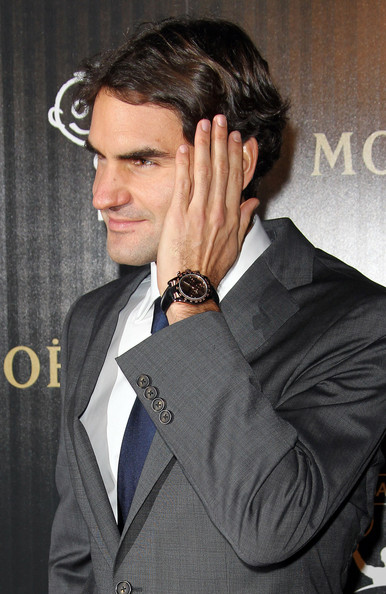More Pics of Roger Federer Men's Suit (1 of 2) - Roger Federer Lookbook - StyleBistro