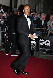 Aston Merrygold wore a classic pair of cap-toe oxfords for the Royal Opera House.