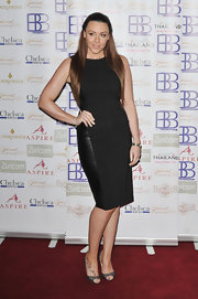 Michelle Heaton attended the National Luxury and Lifestyle Awards wearing a contoured LBD.