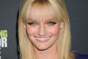 Lydia Hearst Shaw Long Straight Cut with Bangs