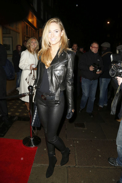 More Pics of Kimberley Garner Leather Pants (3 of 5) - Kimberley Garner Lookbook - StyleBistro