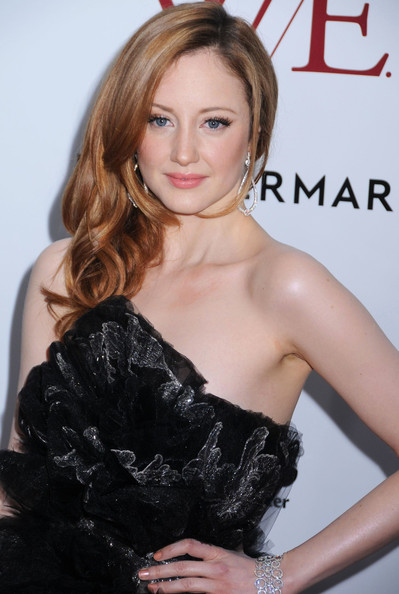 More Pics of Andrea Riseborough Strapless Dress (1 of 7) - Andrea Riseborough Lookbook - StyleBistro