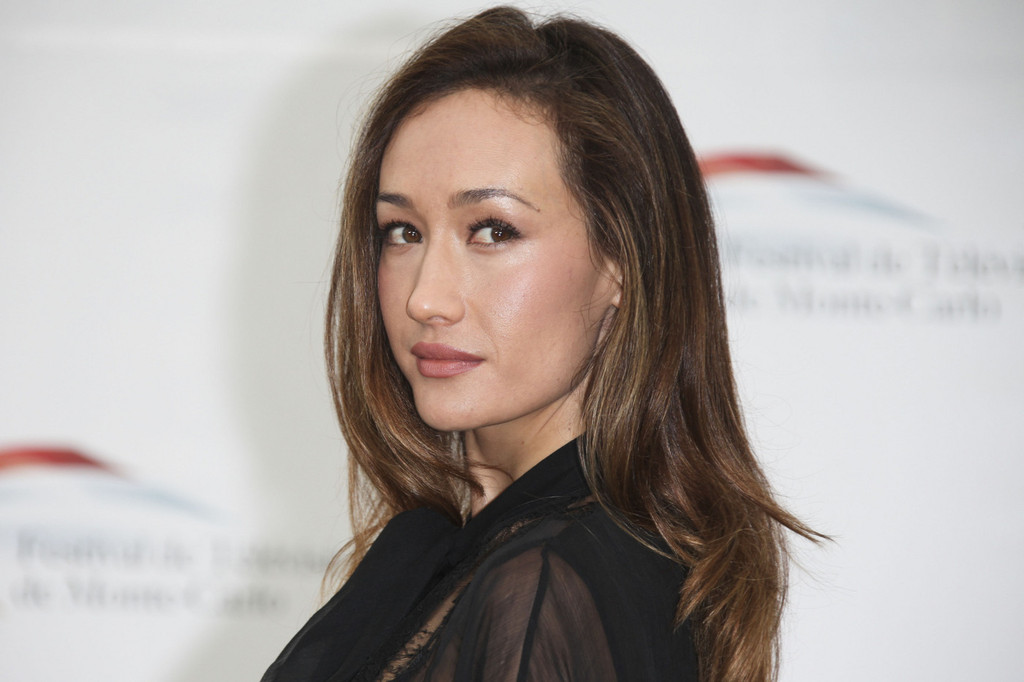 Maggie Q Hairstyle: More Pics Of Maggie Q Loose Blouse (1 Of 12)